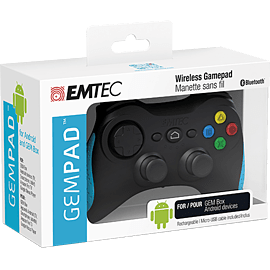 EMTEC GEM Pad Wireless Gamepad BT F500 Consumer Tech