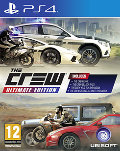 The Crew Ultimate Edition PS4 Cover Art