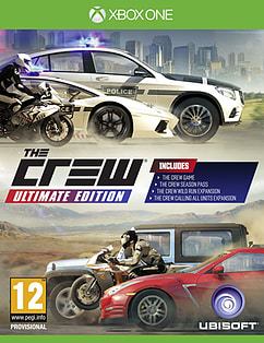 The Crew Ultimate Edition XBOX ONE Cover Art