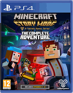 Minecraft: Story Mode - The Complete Adventure PS4 Cover Art