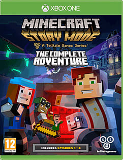 Minecraft: Story Mode - The Complete Adventure XBOX ONE Cover Art