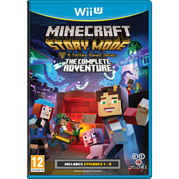 Minecraft: Story Mode - The Complete Adventure Wii U Cover Art