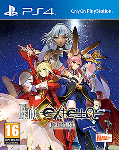 Fate Extella: The Umbral Star PS4 Cover Art