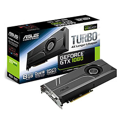 ASUS GeForce GTX 1080 8GB TURBO Graphics Card PC Cover Art