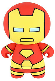 Marvel Kawaii Iron Man Powerbank 2600 mAh Mobile phones Cover Art