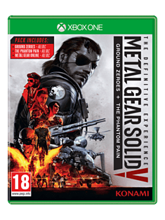 Metal Gear Solid V The Phantom Pain - Definitive Experience XBOX ONE Cover Art