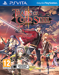 The Legend of Heroes: Trails of Cold Steel II PS Vita Cover Art