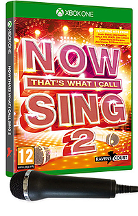 NOW That's What I Call Sing 2 with 1 Microphone XBOX ONE Cover Art