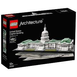 LEGO Architecture United States Capitol Building Blocks and Bricks