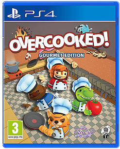 Overcooked Gourmet Edition PS4 Cover Art