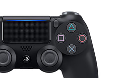New PlayStation DUALSHOCK 4 Controller - Black screen shot 7