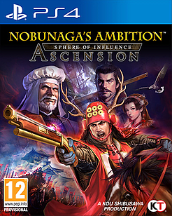 Nobunaga's Ambition Sphere of Influence - Ascension PS4 Cover Art