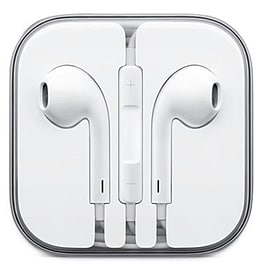 Earphones Handsfree With Remote Microphone For Apple iPhone 5, 5C, 6s, 6 Plus Multi Format and Universal