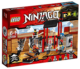 LEGO Ninjago Kryptarium Prison Breakout Building Set Blocks and Bricks