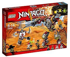 LEGO Ninjago Salvage M.E.C. Building Set Blocks and Bricks
