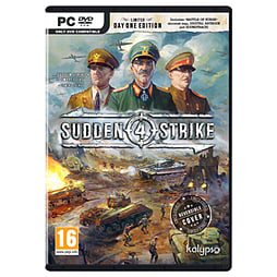 Sudden Strike 4 - Day 1 Edition PC Cover Art