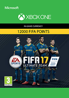 FIFA 17 Ultimate Team FIFA Points 12000 XBOX ONE Cover Art