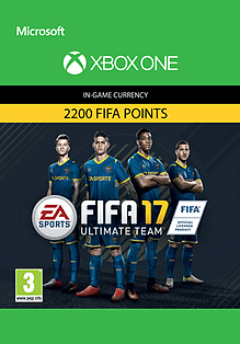 FIFA 17 Ultimate Team FIFA Points 2200 XBOX ONE Cover Art