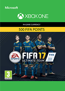FIFA 17 Ultimate Team FIFA Points 500 XBOX ONE Cover Art