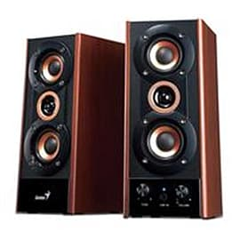 Genius SP-HF800A - 20w Wooden Speakers Multi Format and Universal