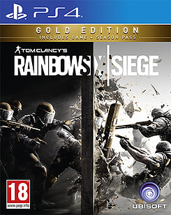 Tom Clancy's Rainbow Six Siege - Gold Edition PS4 Cover Art