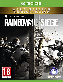 Tom Clancy's Rainbow Six Siege - Gold Edition XBOX ONE Cover Art