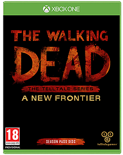 The Walking Dead - The Telltale Series: A New Frontier XBOX ONE Cover Art