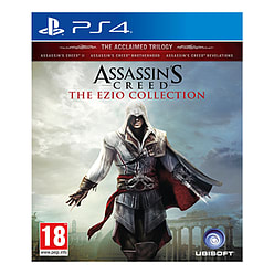 Assassin's Creed The Ezio Collection PS4 Cover Art