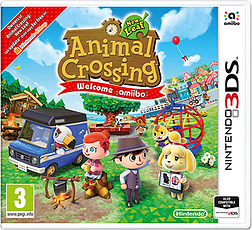 Animal Crossing New Leaf: Welcomes amiibo (includes amiibo card) 3DS Cover Art