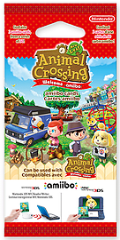 Animal Crossing New Leaf amiibo cards Amiibo Cover Art