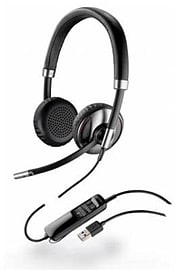 Plantronics Blackwire C710-M Mono Headset USB & Bluetooth Multi Format and Universal