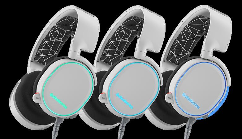 Resultado de imagem para Headset SteelSeries ARCTIS 5 WHITE