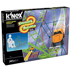 K'Nex Roller Coaster Building Set Infinite Journey Blocks and Bricks