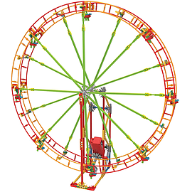 K'Nex Roller Coaster Building Set Revolution Ferris Wheel Blocks and Bricks