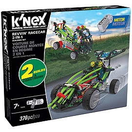 K'Nex Building Set Revvin' Race Car Blocks and Bricks