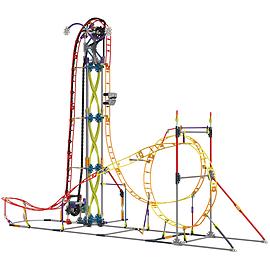 K'Nex Roller Coaster Building Set Electric Inferno Blocks and Bricks