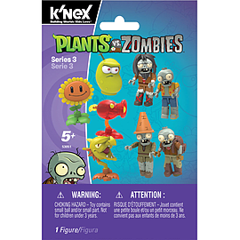 K'Nex Plants Vs Zombies Mystery Bags Series 3 Blocks and Bricks