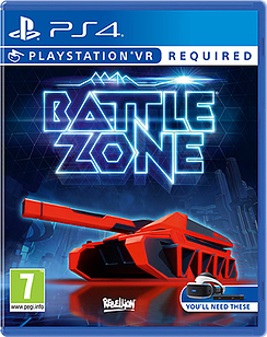 Battlezone PS4 Cover Art