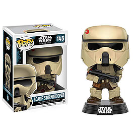 Star Wars: Rogue 1 Pop! Vinyl - Scarif Stormtrooper Scaled Models