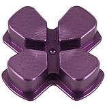 ZedLabz aluminium alloy metal directional d pad arrow button for Sony PS4 controllers - purple screen shot 1