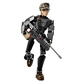 Lego Star Wars Sergeant Jyn Erso Blocks and Bricks