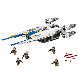 Lego Star Wars Rebel U-Wing Fighter Blocks and Bricks