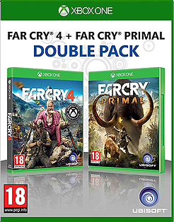 Far Cry 4 + Far Cry Primal Xbox One Cover Art