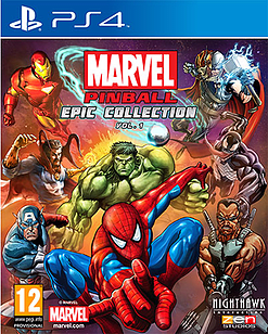 Marvel Pinball Greatest Hits – Volume 1 PS4 Cover Art