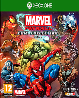 Marvel Pinball Greatest Hits – Volume 1 XBOX ONE Cover Art