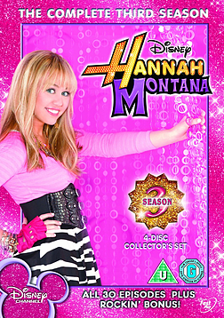 Hannah Montana The Complete Third Season (4-Disc) [DVD] DVD