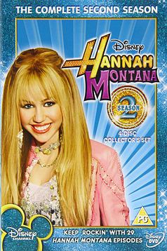 Hannah Montana The Complete Second Season (4-Disc) [DVD] DVD