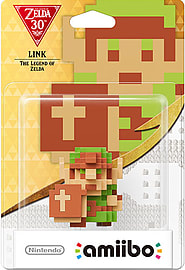 Zelda Collection amiibo: 8-bit Link Amiibo