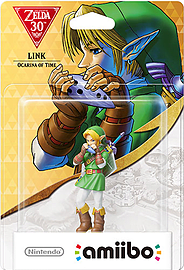 Zelda Collection amiibo: Link Ocarina Amiibo