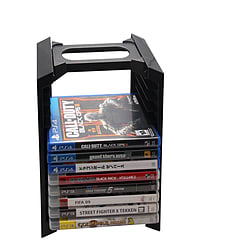Multifunction Console Stand and Game Disc Tower for PS4 PS4